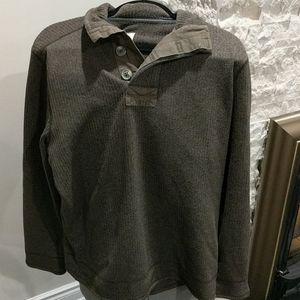 Olive Field & Stream Sweater